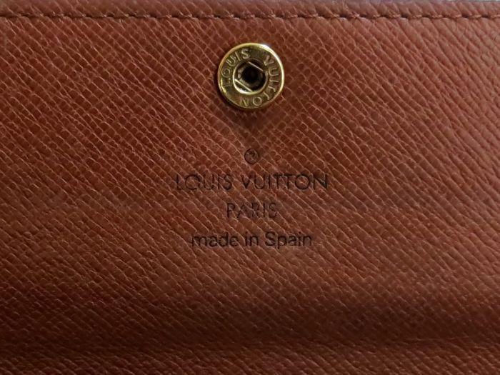 ◆美品◆ルイヴィトン Louis Vuitton 美品 モノグラム ポルトフォイユ サラ 長財布 二つ折り_画像2