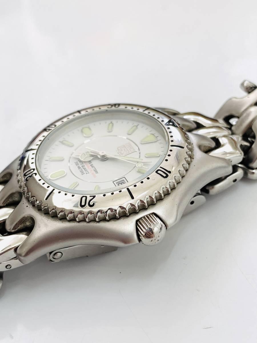 1907 480円~ 中古品 ELGIN/エルジン FK-664-A クォーツ メンズ 腕時計_画像3