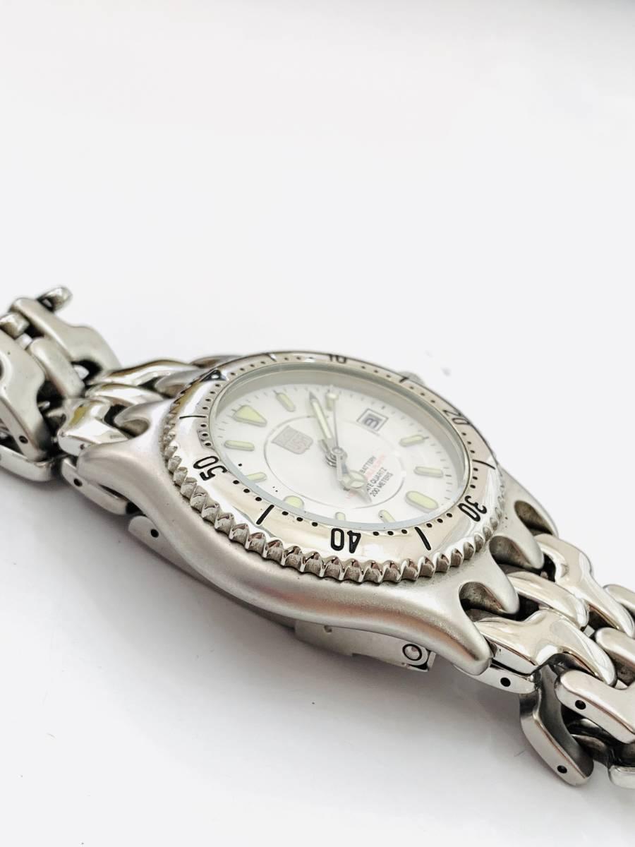 1907 480円~ 中古品 ELGIN/エルジン FK-664-A クォーツ メンズ 腕時計_画像4
