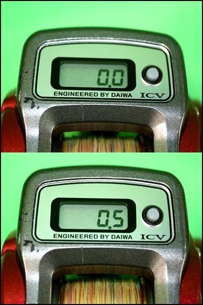 【美品】 DAIWA It's ICV 150WR ダイワ イッツ ICV 150WR 右ダブルハンドル リール カウンター付リール 手巻き 釣り 船釣り_画像2