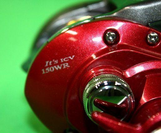 【美品】 DAIWA It's ICV 150WR ダイワ イッツ ICV 150WR 右ダブルハンドル リール カウンター付リール 手巻き 釣り 船釣り_画像4