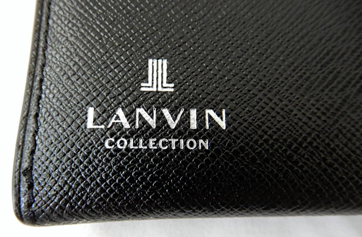【USED品★1円~】 LANVIN / ランバン レザー 長財布_画像5