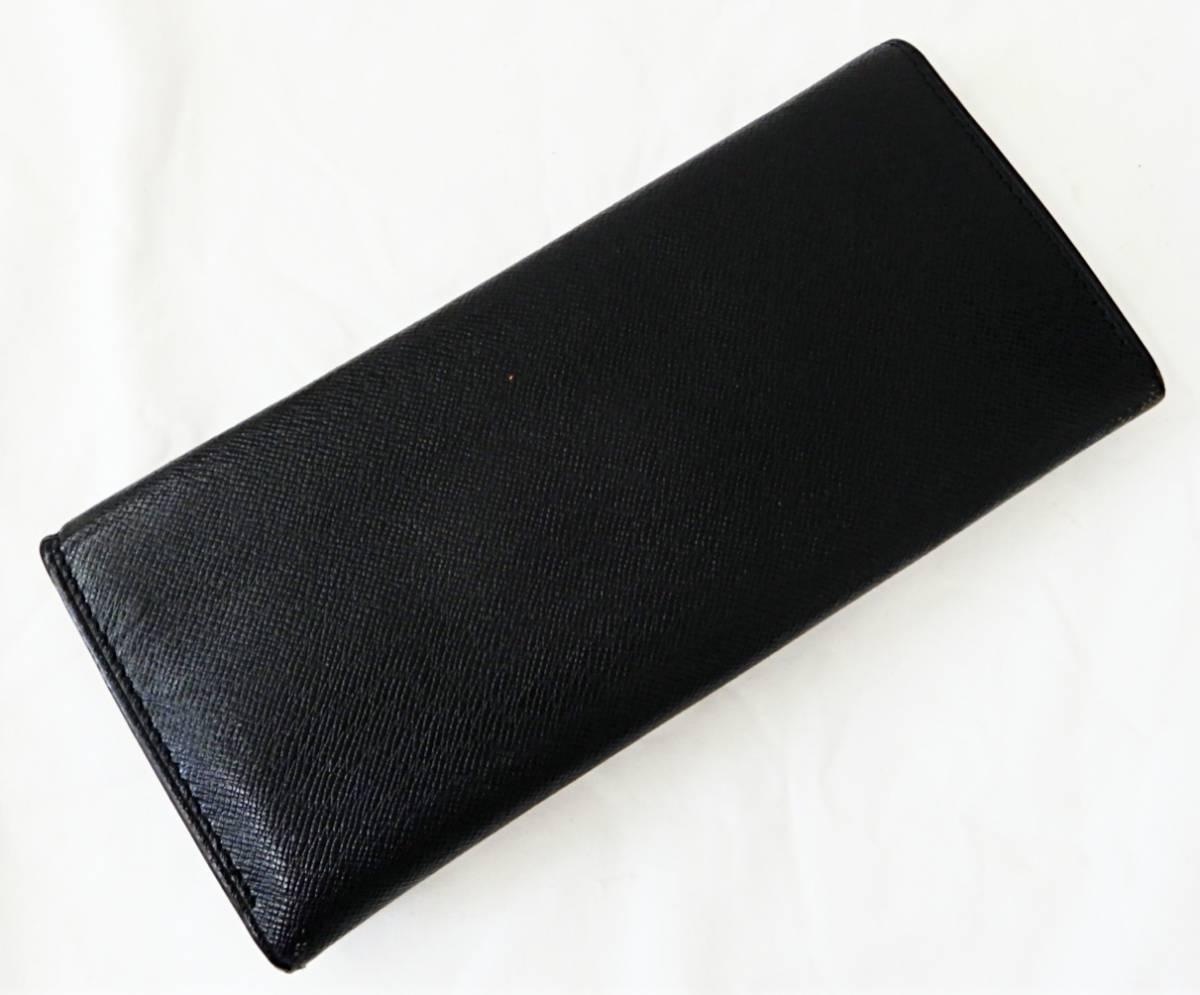 【USED品★1円~】 LANVIN / ランバン レザー 長財布_画像2