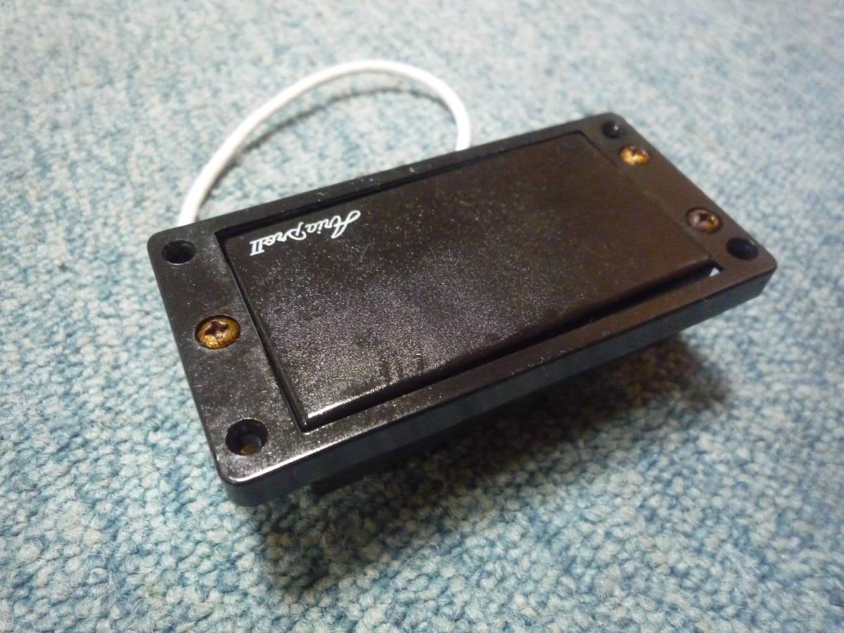 ARIA PRO Ⅱ JX-550 Humbacker Pickup アリアプロ2 ハムバッカー ピックアップ タップ可能 白ロゴ エスカッション付き_画像5