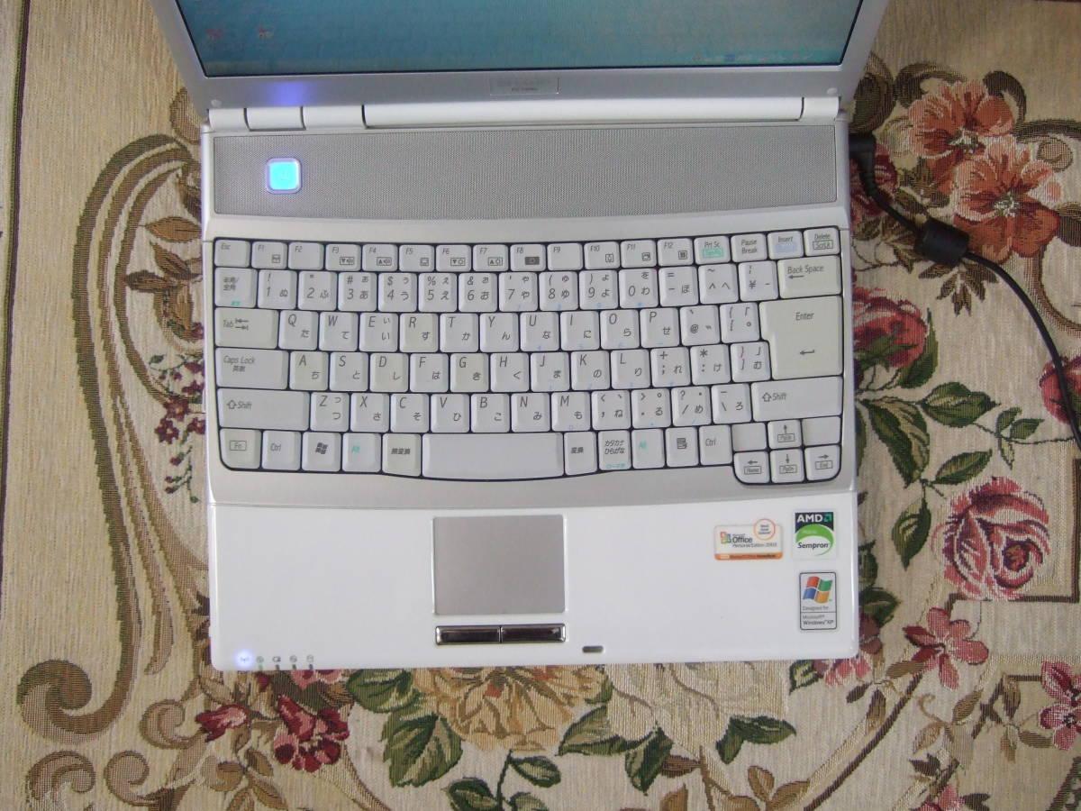 きれい Sharp PC-CS50J 1.60GHz/60GB/512MB/XP/office2007/Combo_画像2