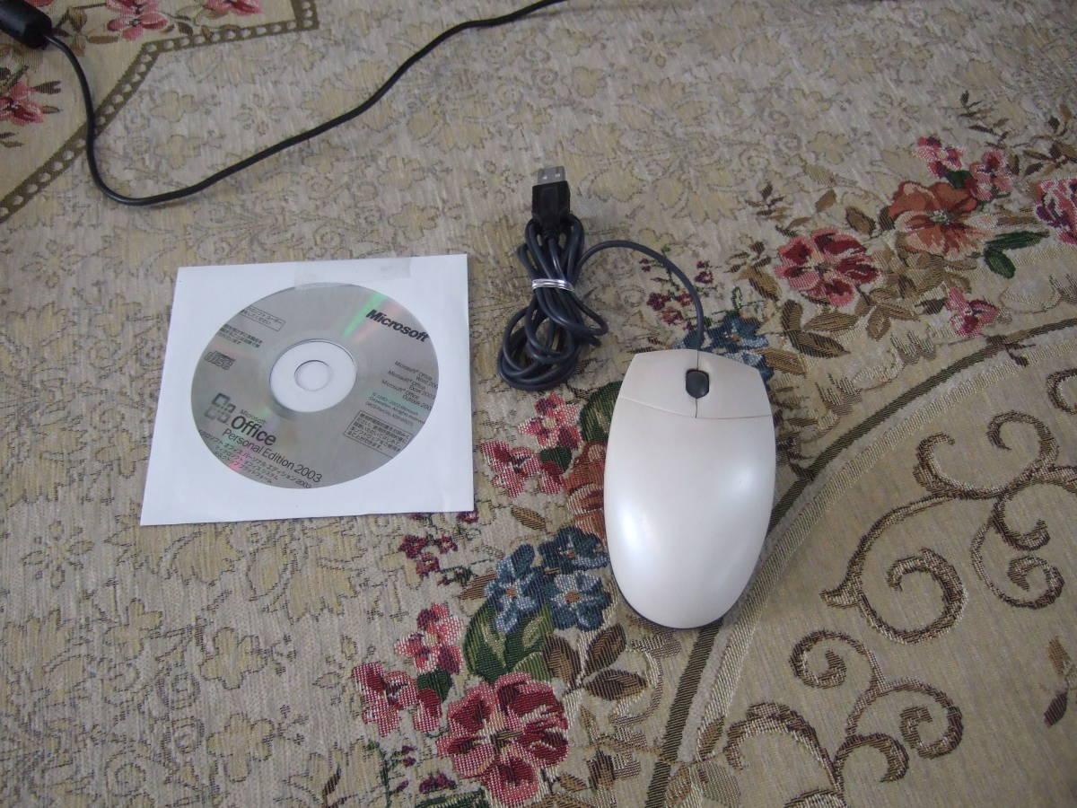 きれい Sharp PC-CS50J 1.60GHz/60GB/512MB/XP/office2007/Combo_画像8