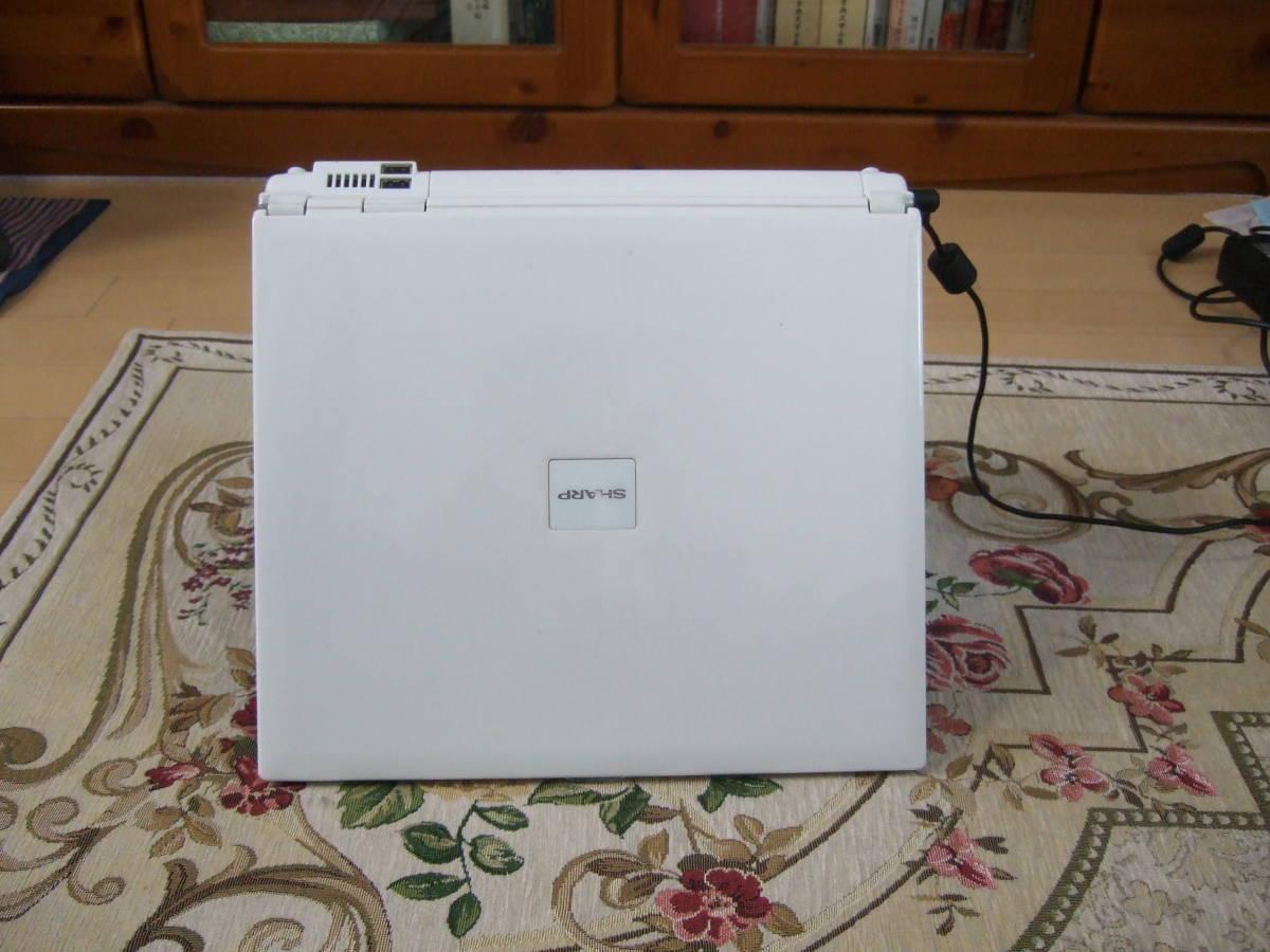 きれい Sharp PC-CS50J 1.60GHz/60GB/512MB/XP/office2007/Combo_画像3