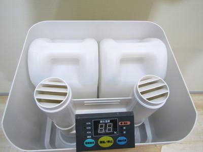 【加湿器】★2916★ NAKATOMI 業務用 スチーム式加湿器 SFH-12 木造20畳プレハブ33畳 インフルエンザ対策 ★ビックリユース★_画像4