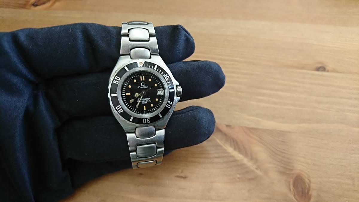 ◆◇テスター稼働品 電池切れ OMEGA オメガ SEAMASTER 200 シーマスタープロフェッショナル 200M レディース クォーツ 腕時計◇◆