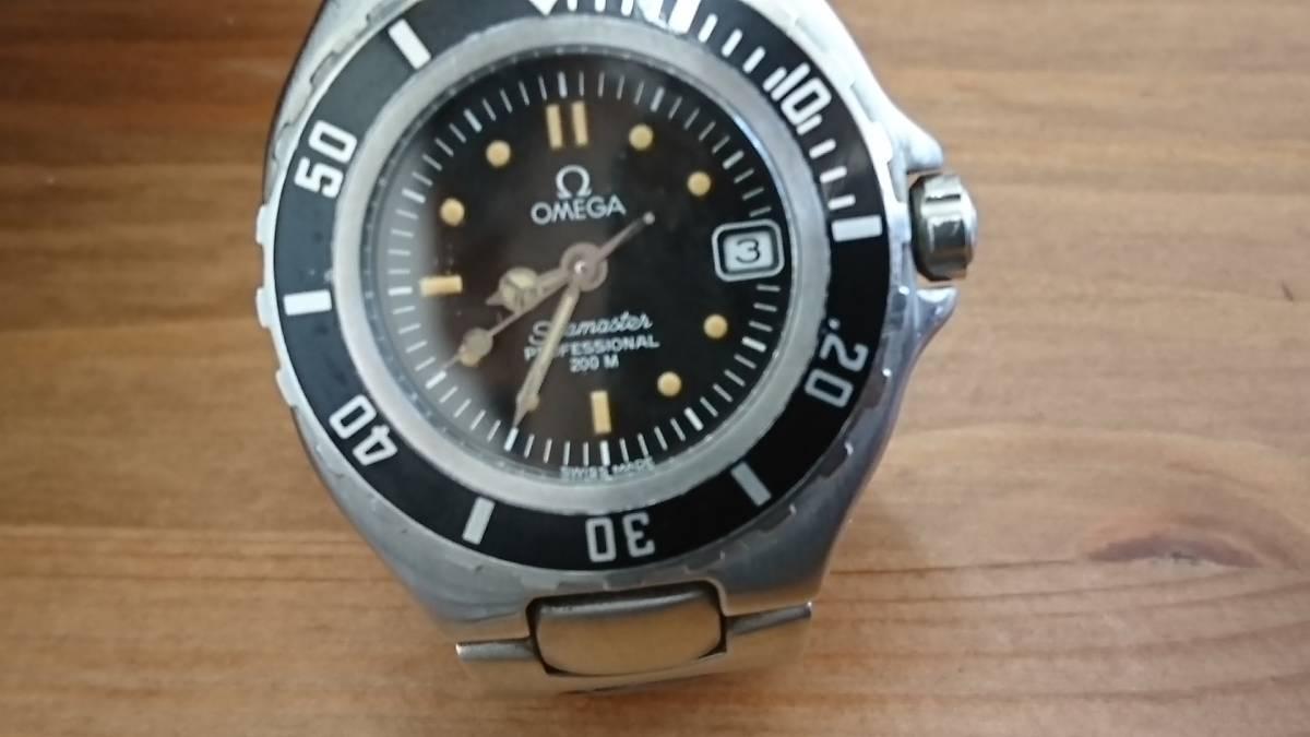 ◆◇テスター稼働品 電池切れ OMEGA オメガ SEAMASTER 200 シーマスタープロフェッショナル 200M レディース クォーツ 腕時計◇◆_画像2