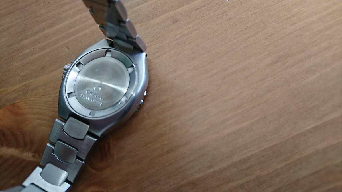 ◆◇テスター稼働品 電池切れ OMEGA オメガ SEAMASTER 200 シーマスタープロフェッショナル 200M レディース クォーツ 腕時計◇◆_画像4