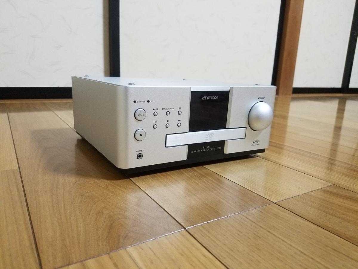 ☆美品☆ JVC Victor コンパクトコンポーネントDVDシステム EX-AK1 ビクター