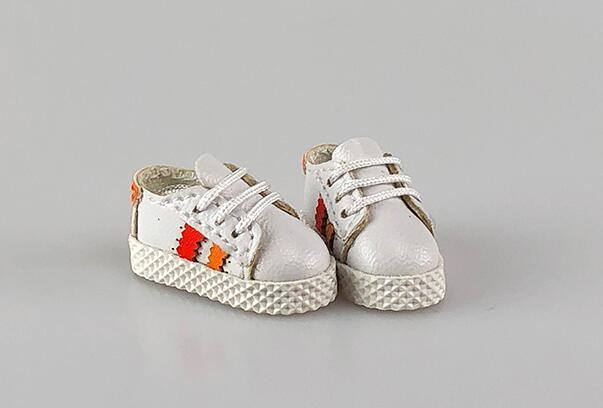 手作り♪ OB11 オビツ11サイズ お靴 シューズ スニーカー 3色 カラー選択可56_画像4