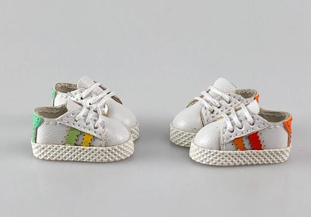 手作り♪ OB11 オビツ11サイズ お靴 シューズ スニーカー 3色 カラー選択可56_画像2