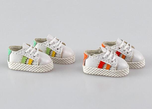 手作り♪ OB11 オビツ11サイズ お靴 シューズ スニーカー 3色 カラー選択可56_画像7