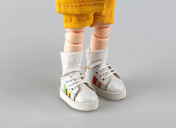 手作り♪ OB11 オビツ11サイズ お靴 シューズ スニーカー 3色 カラー選択可56_画像6