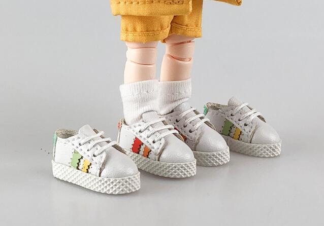 手作り♪ OB11 オビツ11サイズ お靴 シューズ スニーカー 3色 カラー選択可56_画像8