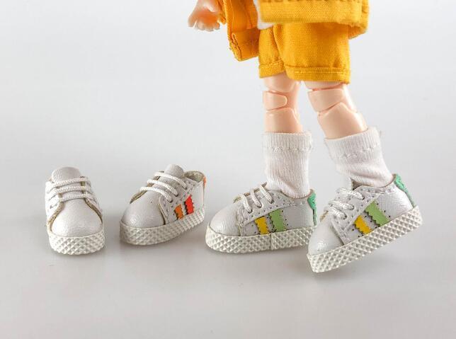 手作り♪ OB11 オビツ11サイズ お靴 シューズ スニーカー 3色 カラー選択可56_画像5