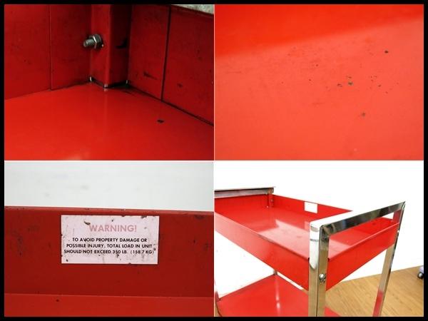 【Snap‐on】☆ロールカート/ワゴン☆KR-448☆工具ホルダー付/整備_画像9