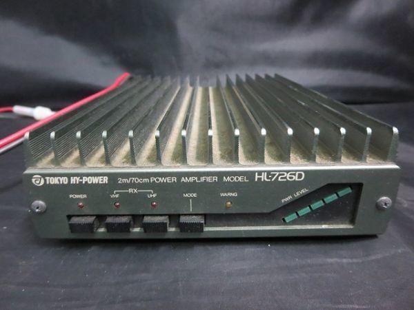 TOKYO HY-POWER HL-726D linear amplifier Tokyo high power