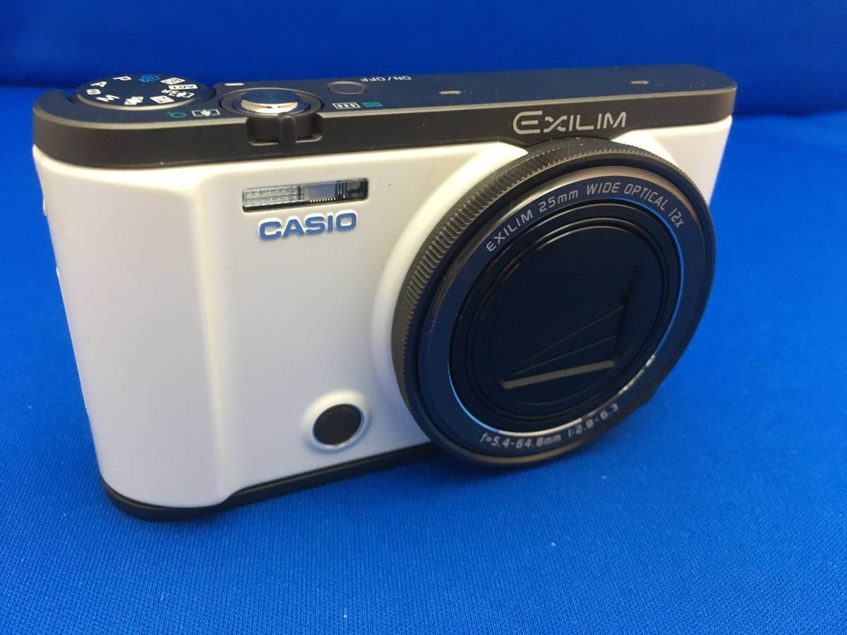 現状 動作品 中古 カシオ CASIO EXILIM EX-ZR3000 デジタルカメラ コンデジ _画像2