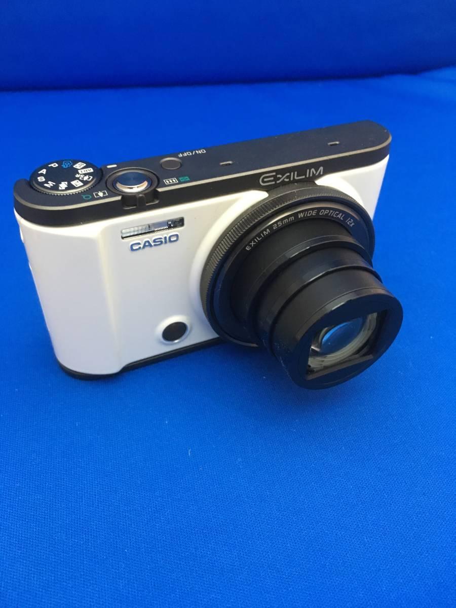 現状 動作品 中古 カシオ CASIO EXILIM EX-ZR3000 デジタルカメラ コンデジ _画像4