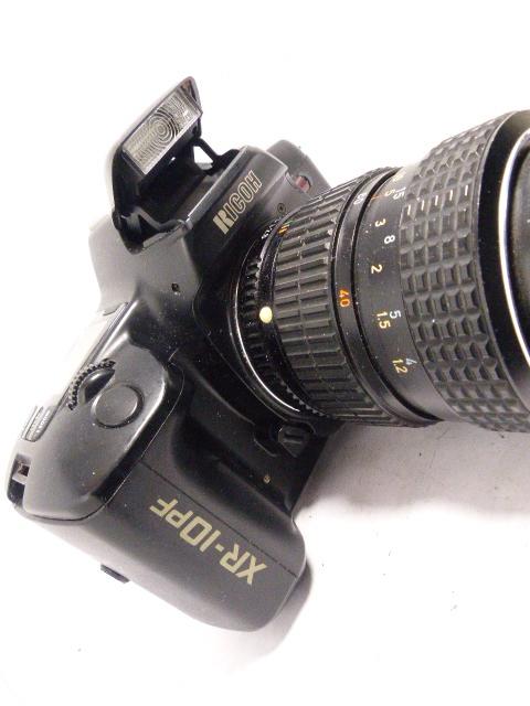 Kマウント リコーXR-10 PF+ペンタックス SMC-M40-80㎜F2.8-4マクロ  ジャンク_画像5