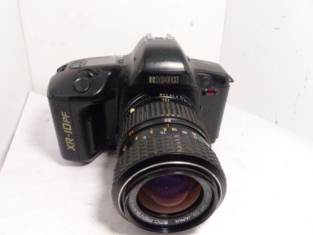 Kマウント リコーXR-10 PF+ペンタックス SMC-M40-80㎜F2.8-4マクロ  ジャンク_画像1