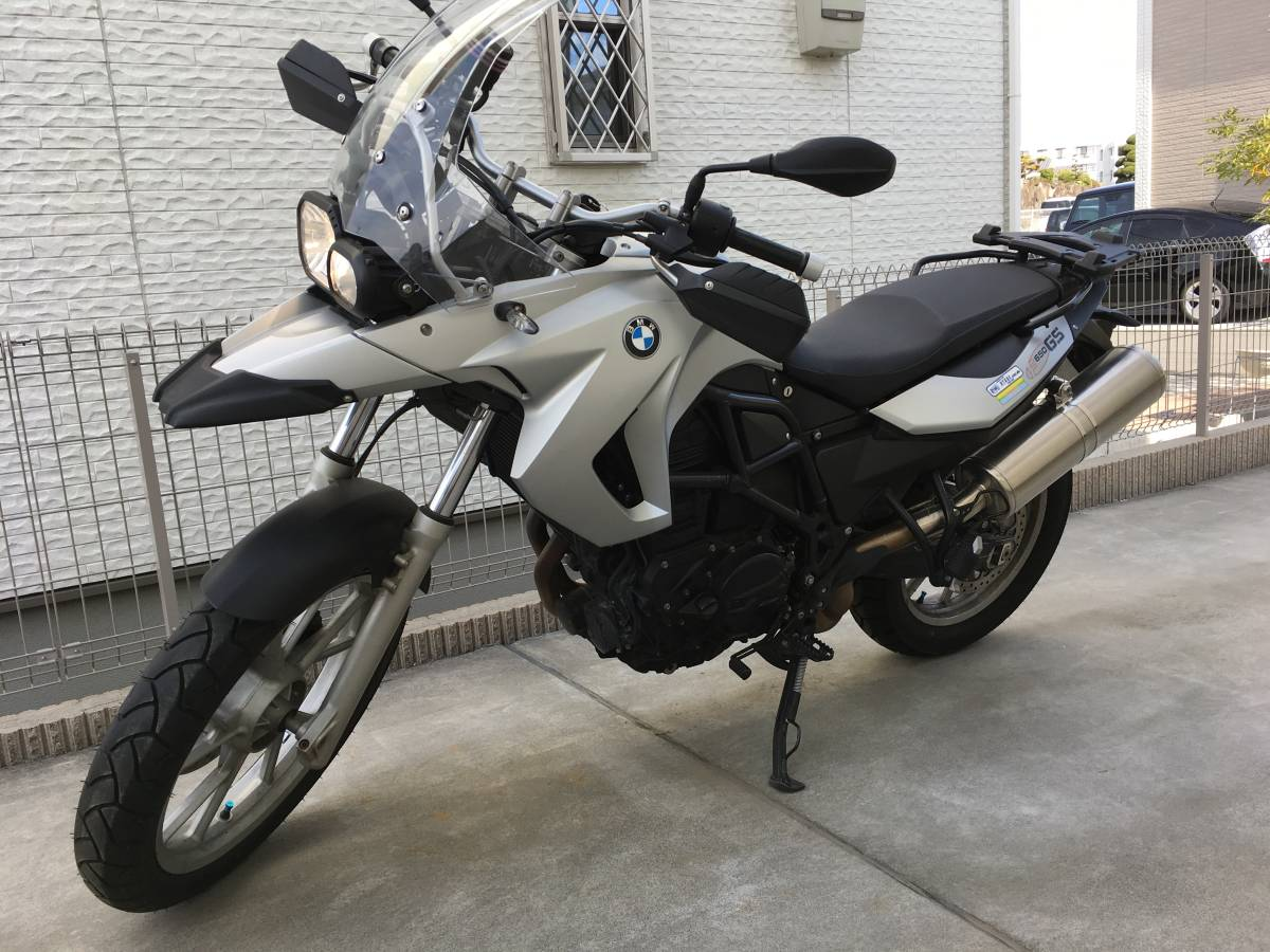 中古 BMW F650GS TWIN 800cc 車検2019.12までありABS・ ETC・グリップヒーター付き 大阪より