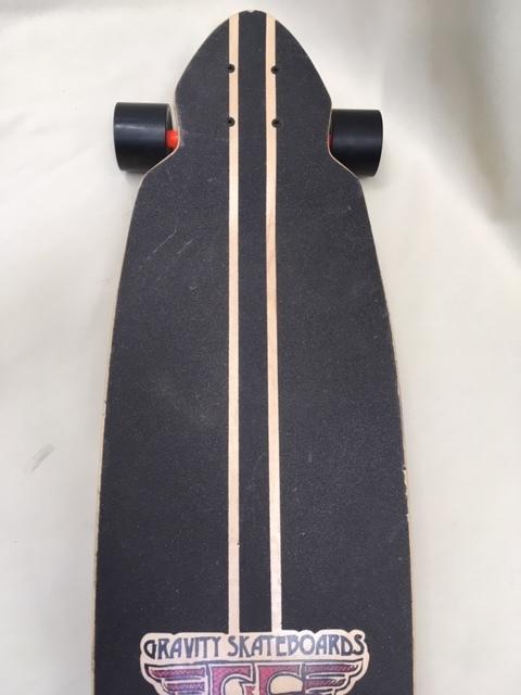 GRAVITY グラビティ スケートボード 40inch mini kick ロングスケボー サーフィン トレーニング 中古 程度良!!_画像4