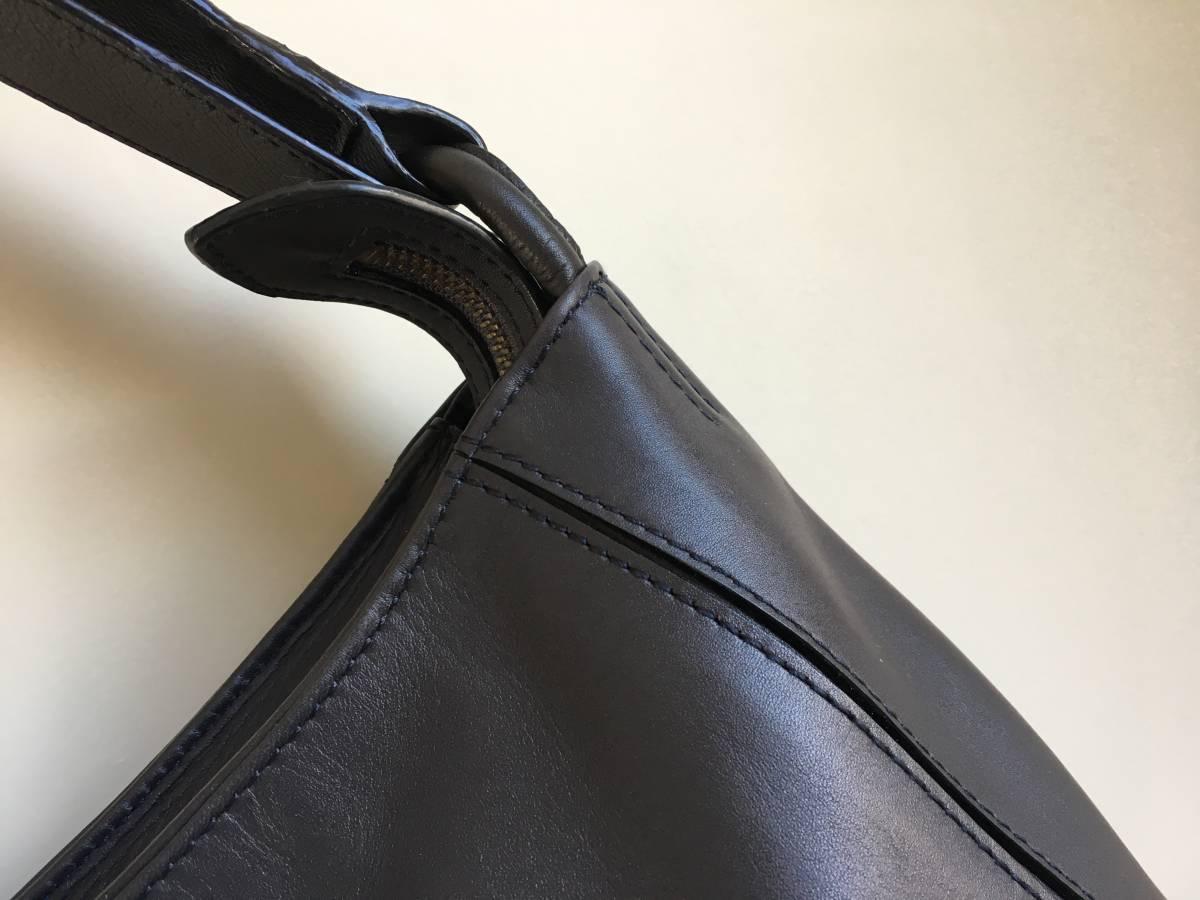 極美品◎MOTHERHOUSE マザーハウス レザー2WAYバッグ ショルダーバッグ リュック トートバッグ型保存袋つき◎_画像8