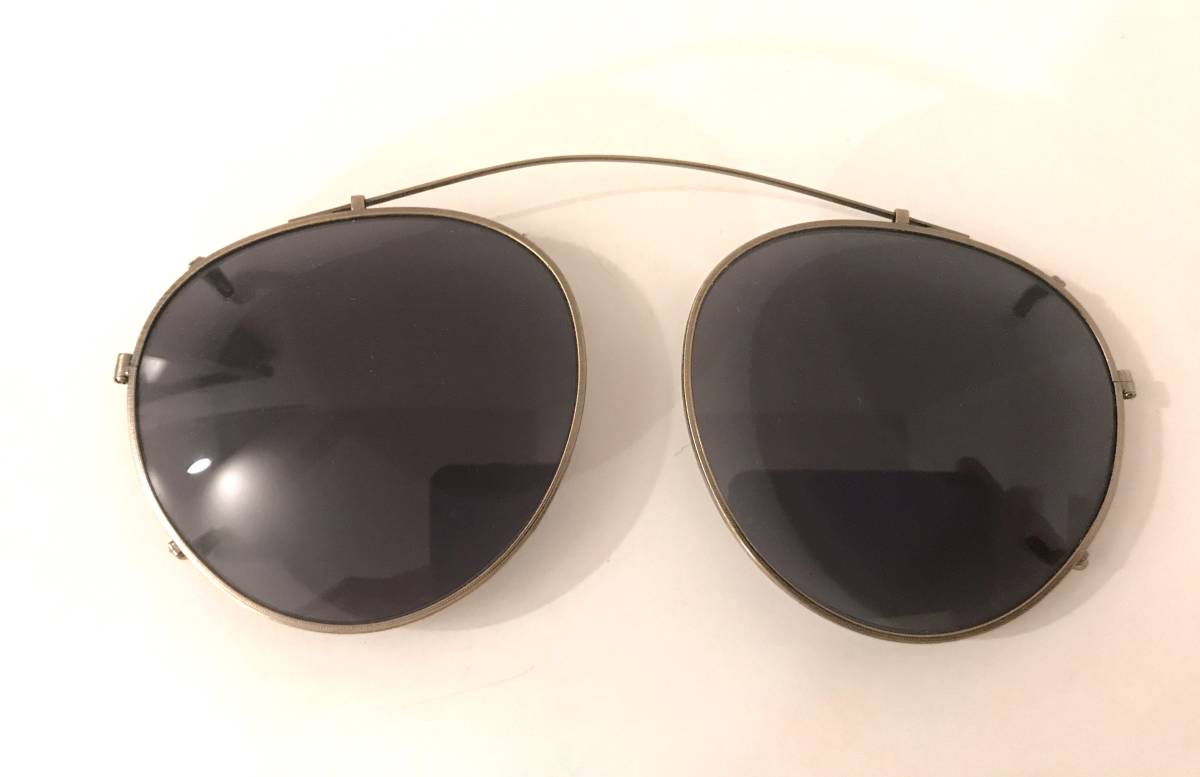 OLIVER PEOPLES [復刻モデル MP-2 CLIP AG Limited Edition 雅 (オプテックジャパン期)]オリバーピープルズ サングラス クリップ オン MP2_画像7