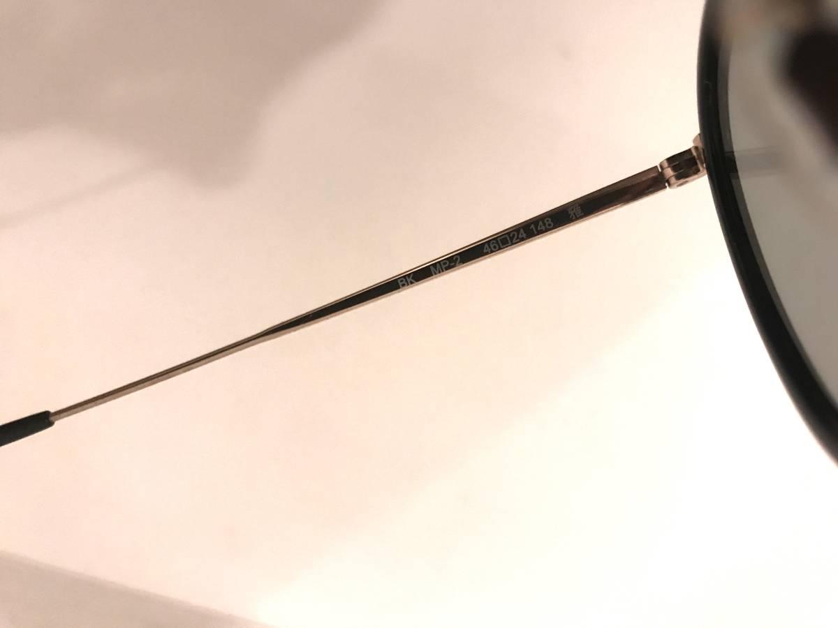 OLIVER PEOPLES [復刻モデル MP-2 BK Limited Edition 雅 (オプテックジャパン期)]オリバーピープルズ サングラス メガネ メガネ sun MP2_画像4