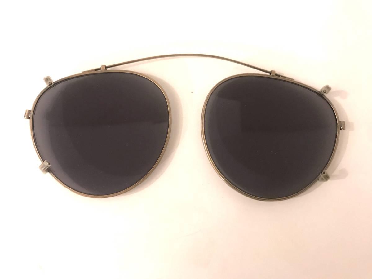 OLIVER PEOPLES [復刻モデル MP-2 CLIP AG Limited Edition 雅 (オプテックジャパン期)]オリバーピープルズ サングラス クリップ オン MP2_画像8