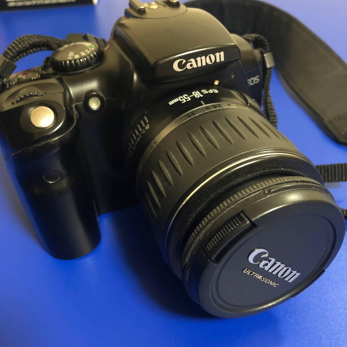 送料込 Canon 一眼レフカメラ EOS Kiss Digital他(ジャンク)_画像2