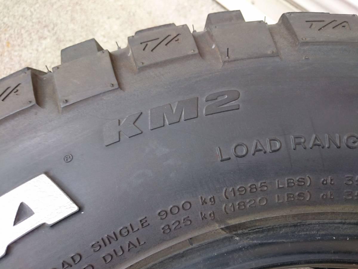 ジムニー ジープ マッドタイヤ BFグッドリッチ マッドテレーン KM2 235/75R15 1本_画像6