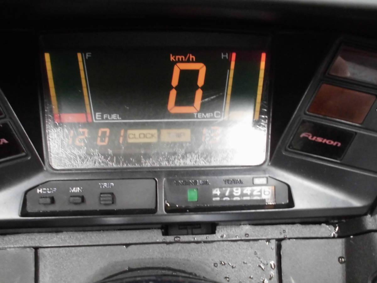 @ 神戸~試乗 ok フュージョンX250 ワンオーナー 走行多い目ですが、多少の割れ小キズは有りますが 大きなダメージ無し 登録.自賠責付_画像4