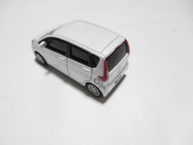 三菱 ekワゴン ミニカー ホワイト_画像3
