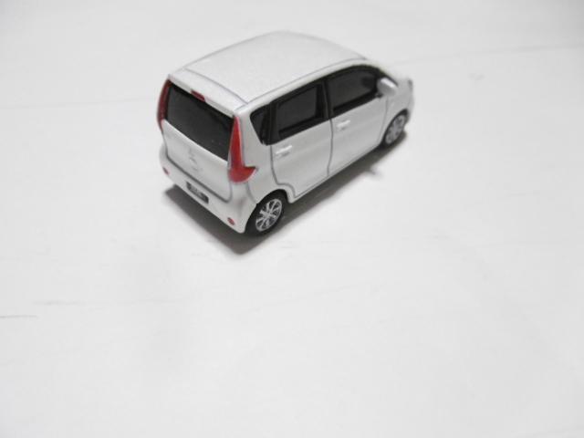三菱 ekワゴン ミニカー ホワイト_画像4