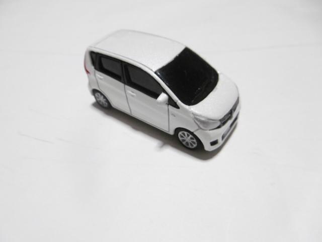 三菱 ekワゴン ミニカー ホワイト_画像5