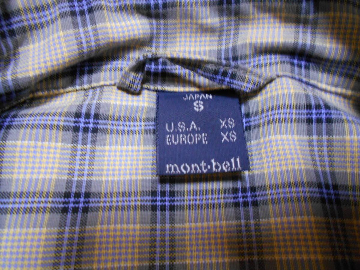 ◆モンベル 半袖シャツ S◆(4479) _画像6