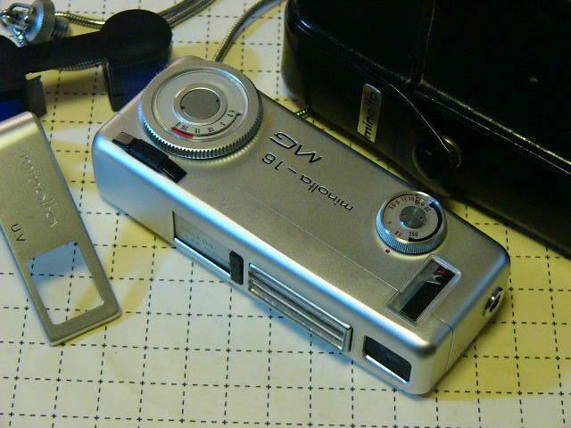 綺麗 Minolta ミノルタ Minolta-16 MG型 ROKKOR 2.8/20mm (動作・極美品) 付属品付/16mmフィルム モデル/ジャンク扱い_画像1