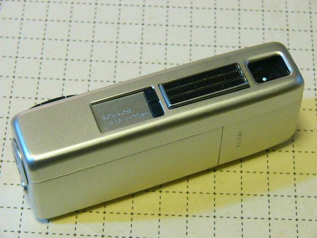 綺麗 Minolta ミノルタ Minolta-16 MG型 ROKKOR 2.8/20mm (動作・極美品) 付属品付/16mmフィルム モデル/ジャンク扱い_画像2