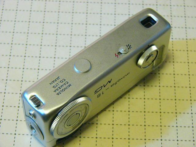 綺麗 Minolta ミノルタ Minolta-16 MG型 ROKKOR 2.8/20mm (動作・極美品) 付属品付/16mmフィルム モデル/ジャンク扱い_画像3