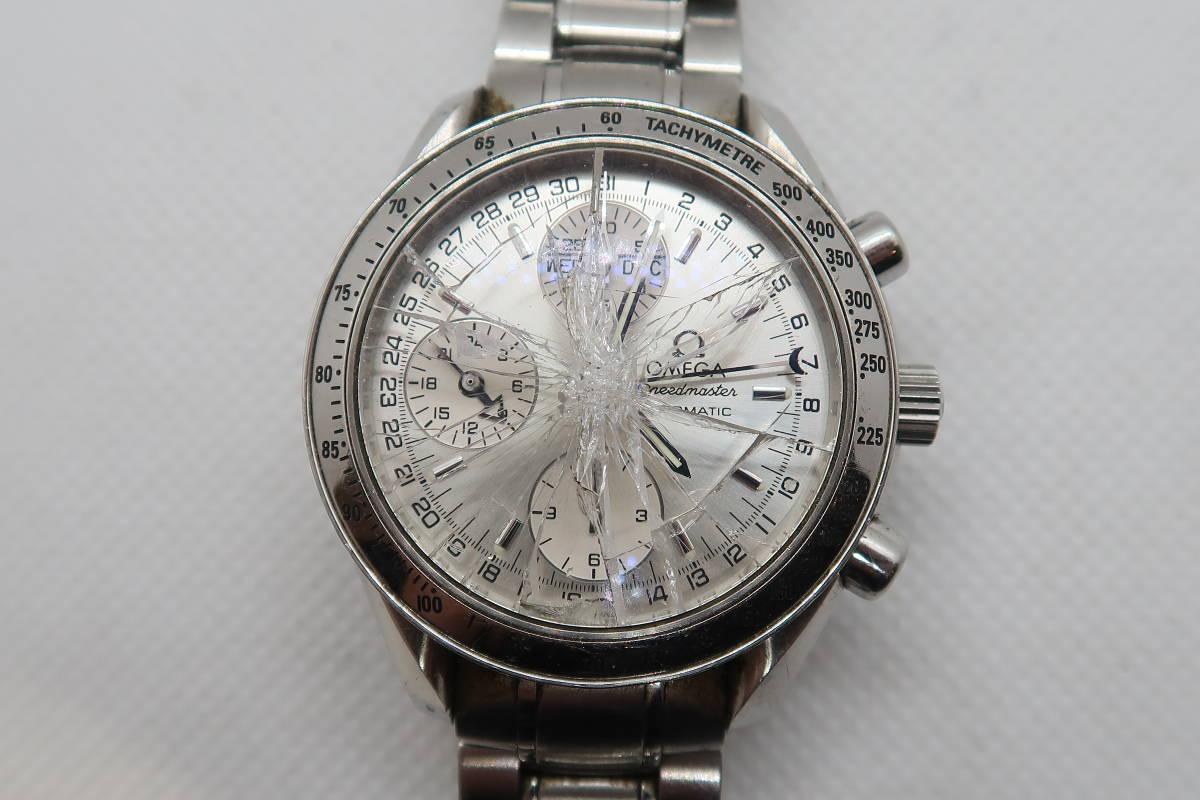 ◆◇1円~ジャンク OMEGA オメガ スピードマスター トリプルカレンダー Cal.1151 メンズ腕時計 自動巻き◇◆_画像2