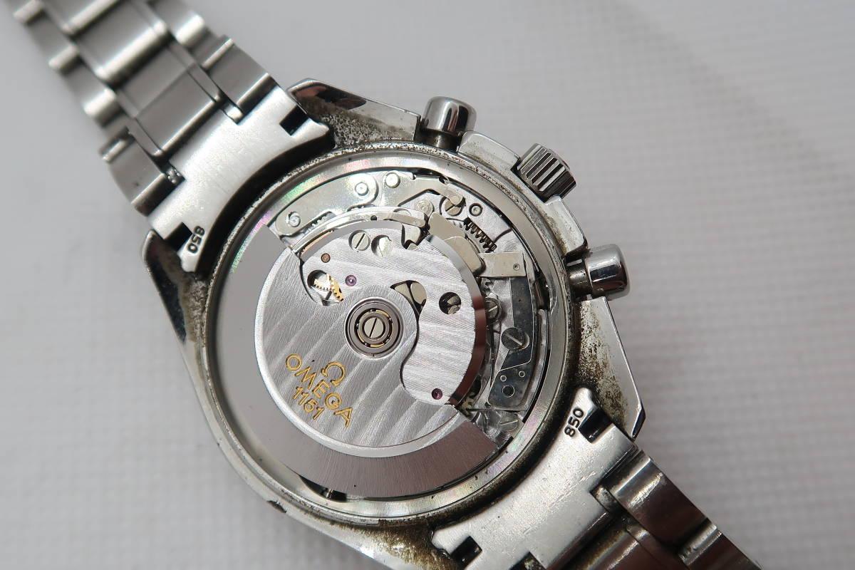 ◆◇1円~ジャンク OMEGA オメガ スピードマスター トリプルカレンダー Cal.1151 メンズ腕時計 自動巻き◇◆_画像7