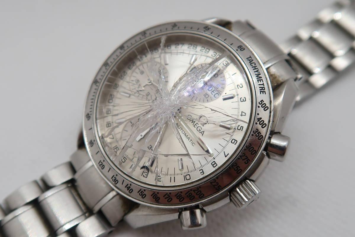 ◆◇1円~ジャンク OMEGA オメガ スピードマスター トリプルカレンダー Cal.1151 メンズ腕時計 自動巻き◇◆_画像9