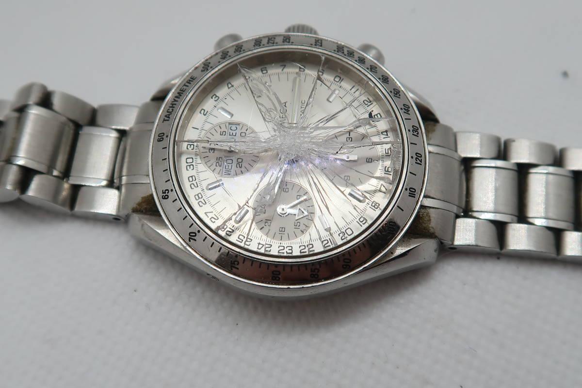 ◆◇1円~ジャンク OMEGA オメガ スピードマスター トリプルカレンダー Cal.1151 メンズ腕時計 自動巻き◇◆_画像10