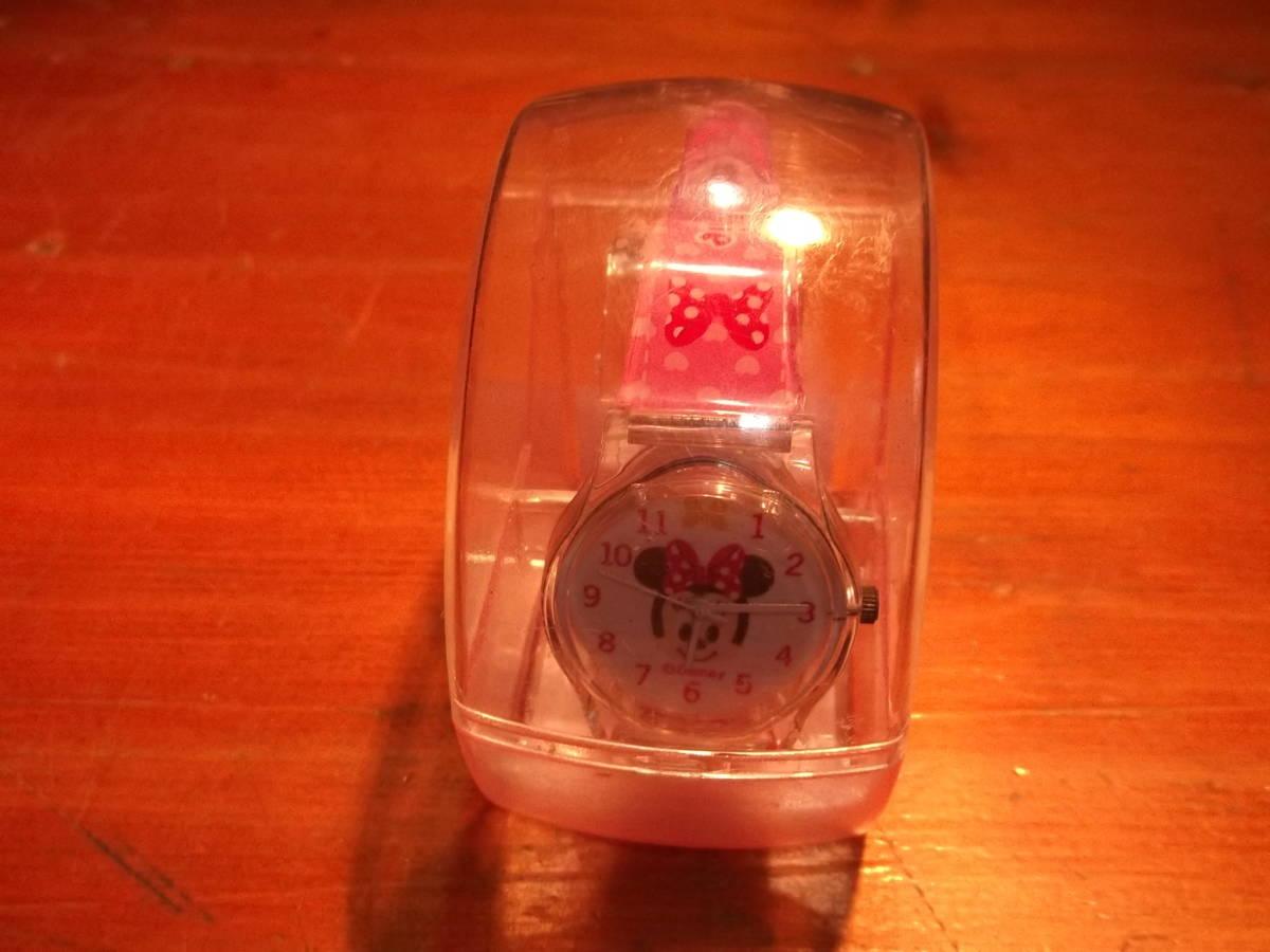 unused?Disney Minnie Minnie Mouse Watch Clock Clock 4