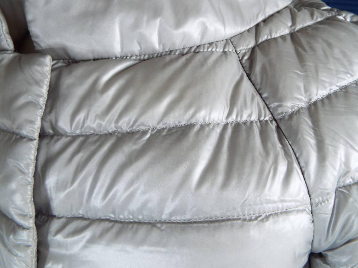 [私物・超美品] ヘルノ HERNO 超軽量 半袖グースダウン・ジャケット(No,2245 )_画像5